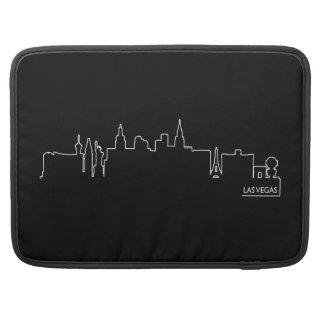 Las Vegas cityscape MacBook Pro Sleeves