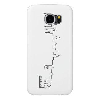 Las Vegas cityscape Samsung Galaxy S6 Cases