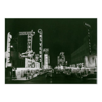 Las Vegas clásico Póster
