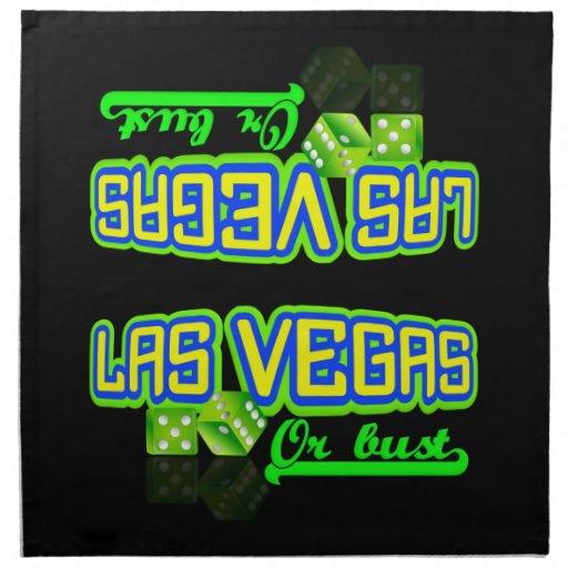 Las Vegas cloth napkins