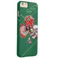 Las Vegas 'Club' Playing Card Shape Barely There iPhone 6 Plus Case