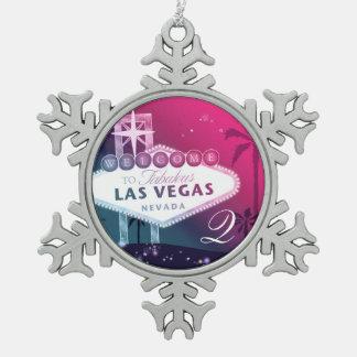 Las Vegas colorido que casa el recuerdo del monogr Adornos