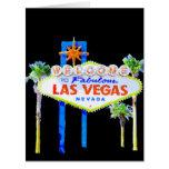 Las Vegas Congratulations Card