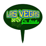Las Vegas custom cake topper