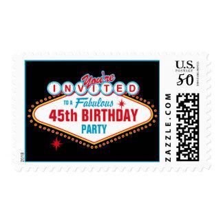 Las Vegas Custom Invitation Postage