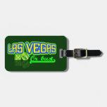Las Vegas custom luggage tag