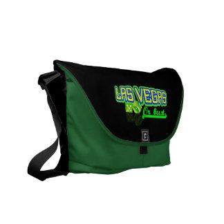 Las Vegas custom messenger bag