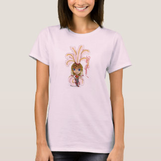 Las Vegas Dancing Showgirl T-Shirt