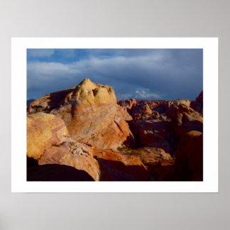 Las Vegas Desert Landscapes: Valley of Fire Poster