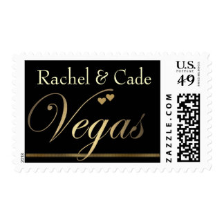 Las Vegas Destination Wedding Stamps- Customized Postage