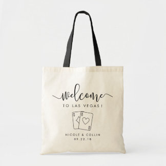 Las Vegas Destination Wedding Welcome Bag
