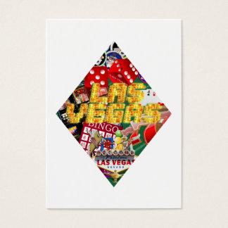 Las Vegas Diamond Playing Card Shape