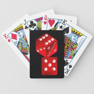 Las Vegas Dice Bicycle Playing Cards