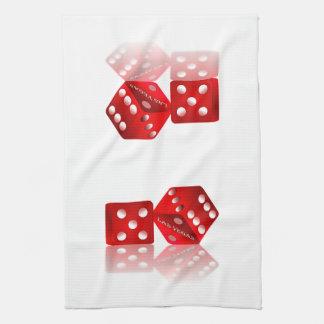 Las Vegas Dice Hand Towel