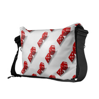Las Vegas Dice Messenger Bag