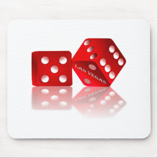 Las Vegas Dice Mouse Pad