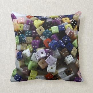 Las Vegas Dice Pillow Beader Pillow