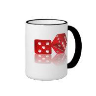 Las Vegas Dice Ringer Coffee Mug