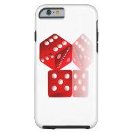 Las Vegas Dice Tough iPhone 6 Case