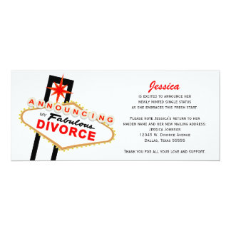 Las Vegas Divorce Announcement