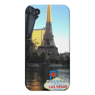 Las Vegas Eiffel Tower Covers For iPhone 4