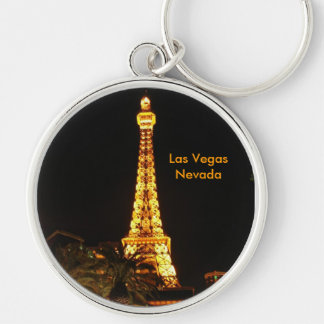 Las Vegas Eiffel Tower Keychain