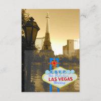 Las Vegas Eiffel Tower Paris Theme RSVP