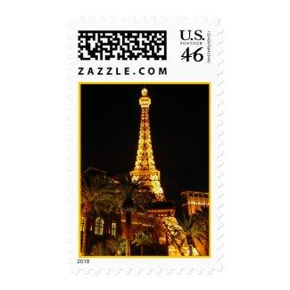 Las Vegas Eiffel Tower Postage stamp
