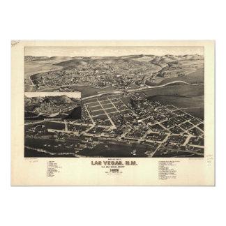 Las Vegas el condado de San Miguel New México Invitación 12,7 X 17,8 Cm