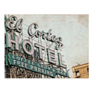 Las Vegas El Cortez Postcard