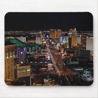 Las Vegas en la noche Alfombrilla De Raton
