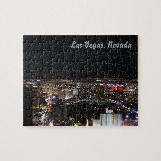 Las Vegas en la noche Rompecabeza