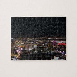 Las Vegas en la noche Puzzle Con Fotos