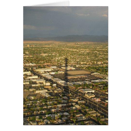 Las Vegas Evening Card