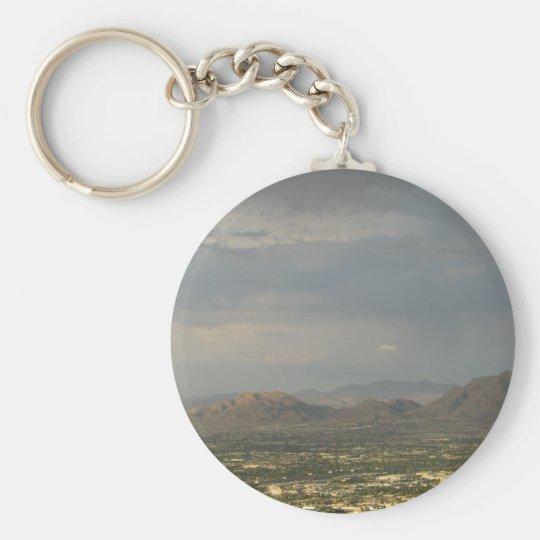 Las Vegas Evening Keychain
