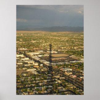 Las Vegas Evening Poster