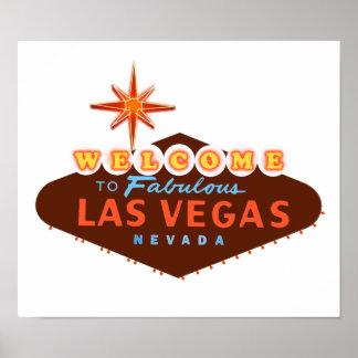 Las Vegas fabuloso Póster