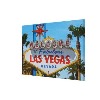 Las Vegas fabuloso - sin los alambres Impresion De Lienzo