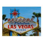 Las Vegas fabuloso - sin los alambres Postal
