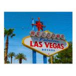 Las Vegas fabuloso Tarjetas Postales