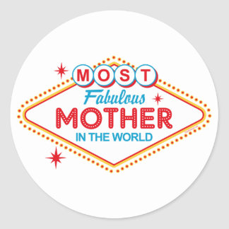 Las Vegas Fabulous Mom Sticker