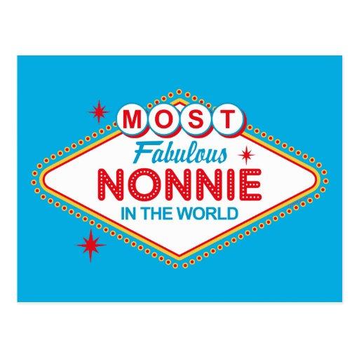 Las Vegas Fabulous Nonnie Postcard