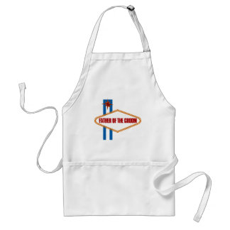 Las Vegas Father of the Groom Adult Apron