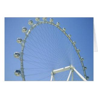 Las Vegas Ferris Wheel Card