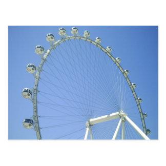 Las Vegas Ferris Wheel Postcard