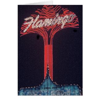 Las Vegas Flamingo Hotel Card
