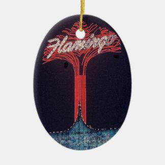 Las Vegas Flamingo Hotel Ceramic Ornament
