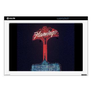 """Las Vegas Flamingo Hotel Skin For 17"""" Laptop"""