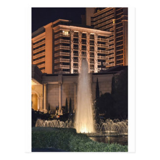 Las Vegas fountain at night_.jpg Postcard