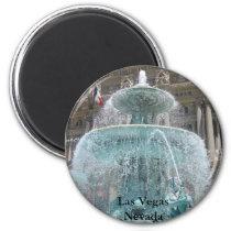 Las Vegas Fountain Magnet